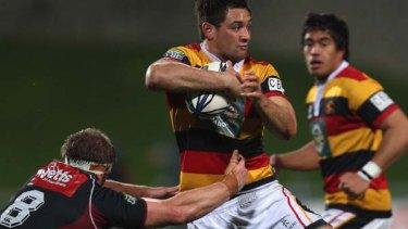 Jack Lam playing for Waikato.