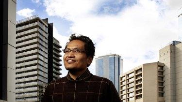 Indonesian Islamic scholar Ulil Abshar Abdalla photographed in Australia last year.