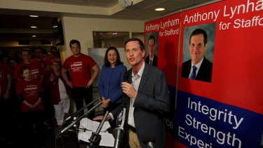 Dr Anthony Lynham won the Stafford by-election.