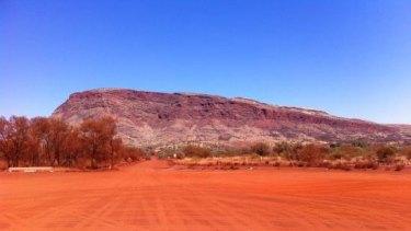 Mount Nameless near Tom Price in the Pilbara.