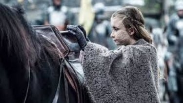 Shireen Baratheon is totally fearless.
