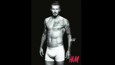 David Beckham is the archetype 'spornosexual', the intersection of sport, porn and metrosexuality.