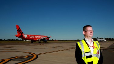 """""""This airport will need greater road and rail links from day one"""": David Hall."""