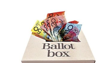 Victorians need to know who is donating to political candidates.