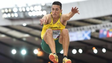 Long jumper Rabrice Lapierre says Hollingsworth is not well liked.