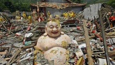 Aftermath of China's devastating May 12 earthquake.