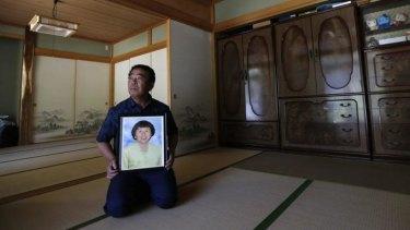 Mikio Watanabe at his home at Yamakiya district in Kawamata town, Fukushima prefecture.