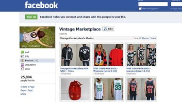 Vintage Marketplace can be found on Facebook.