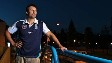 Selection headache: Laurie Daley.