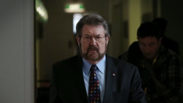 Derryn Hinch was elected to the Senate in 2016.