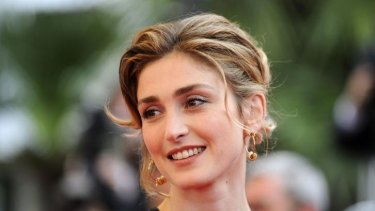 Affair claims: actress Julie Gayet.