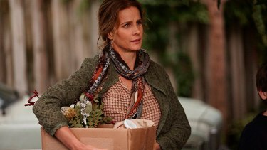 Rachel Griffiths was superb in her portrayal of Assange's mother, Christine.