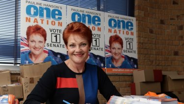 Pauline Hanson says she is wary of approaches from the major parties over preference deals.