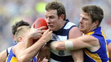 Geelong know to expect a ferocious attack on the man from the 2011 Eagles.