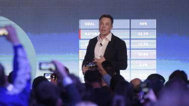 Tesla chief Elon Musk last month as he announced his contract to build the world's largest lithium-ion battery system in South Australia. His vision of a mass electric car future depends on availability of the metal.