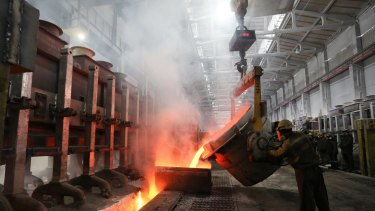 Russia's aluminium producer Rusal has been hit by US sanctions.