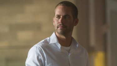 The late actor Paul Walker