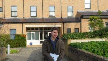 Cambridge bid … Tyson Churcher.
