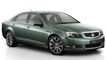 Holden Caprice: was recommended as the preferred option for a fleet of nine specialised blast-proof VIP vehicles.