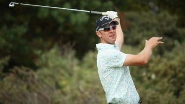 Canberra golfer Brendan Jones will return from an injury layoff this week.