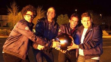 Watch out: Richard Ayoade, Vince Vaughn, Ben Stiller and Jonah Hill.