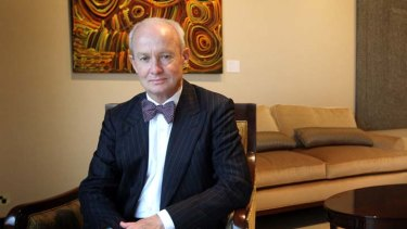 Australia Council CEO James Strong: public face of the private-public  project.