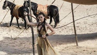 Sans Snake 'R Us ... Jessica Henwick as Nymeria Sand.
