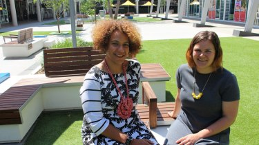 Donita Hulme (left) and Lila Kennelly are making Penrith better and brighter.