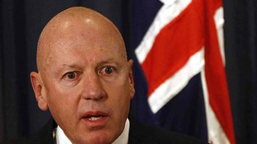 Setting the rules ... NSW Minister for Resources and Energy, Chris Hartcher.