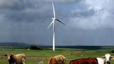 Blowing through ... wind farm lobbyists are fighting new guidelines.