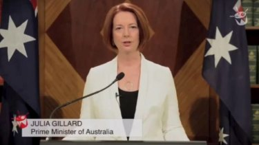 News alert ... the Prime Minister announces the end of the world.