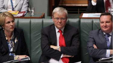 """""""I don't know what I would do. He's impossible to work with"""" ... one cabinet minister, on Kevin Rudd's return as Labor leader."""