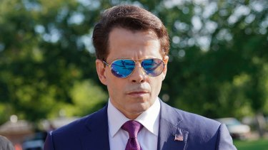 Anthony Scaramucci is the new White House communications director.