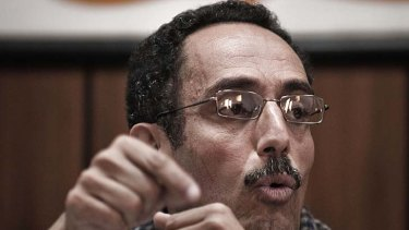 New governmnet . . . spokesman Abdel-Hafidh Ghoga.
