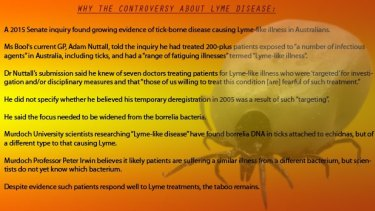 Lyme disease continues to court controversy in Australia.
