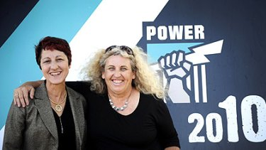 Jan Stirling and Jenny Williams have broken new ground by taking support roles at Port Adelaide and making decisions that involve the players.