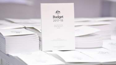 The 2017-18 Budget papers