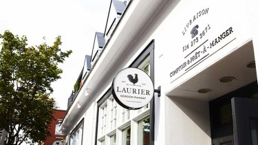 """The Laurier Gordon Ramsay in Montreal ... lacked """"face time"""" with celebrity chef."""