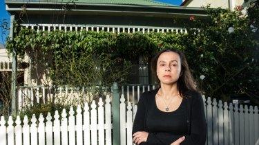 Pauline Lockie's house in St Peters is being compulsorily acquired to make way for WestConnex.