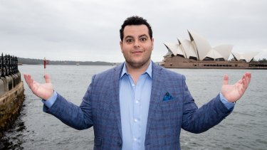 Josh Gad is no stranger to Sydney, having studied at NIDA in 2003.