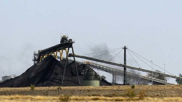 """Mistakes in its forestry offsets were """"highly misleading and deceptive"""" ... Whitehaven Coal mine outside Narrabri."""