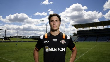 Young gun: Mitchell Moses.