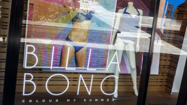 Billabong shops have been bleeding money.