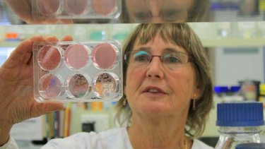 CSIRO virologist Jenny McKimm.