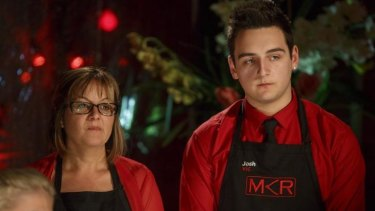 The first mum and son duo on MKR are tight.