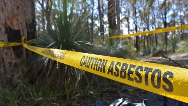 Parks Victoria says illegally dumped asbestos is causing enormous challenges.
