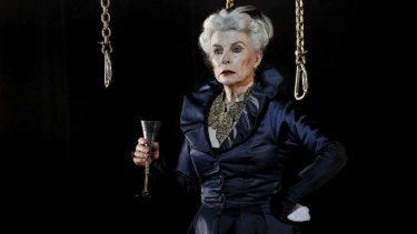 Robyn Nevin as <i>Queen Lear</i>.