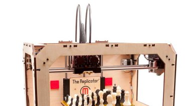 The MakerBot Replicator ... a personal 3D printer.