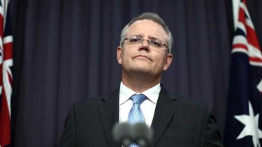Scott Morrison: Admits the information he gave on Manus riot was wrong.