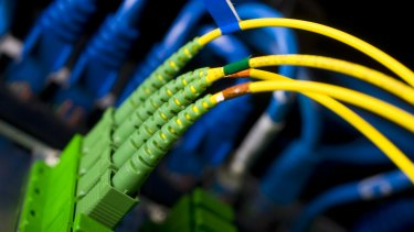 About 130,000 households have been ''passed'' by fibre, which means they can connect to the NBN.